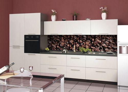 Стеклянный фартук для кухни: идеи для оформления