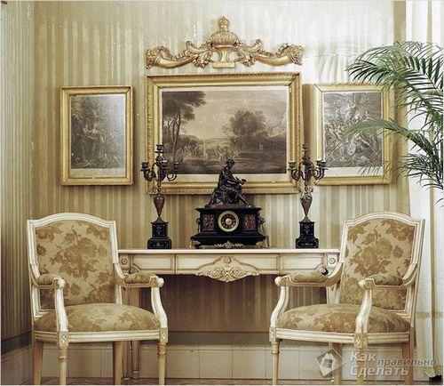 Стиль рококо в интерьере - характерные черты рококо ( фото)