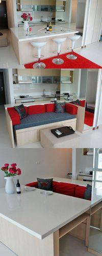 Стол-трансформер для гостиной: конструкции и дизайн