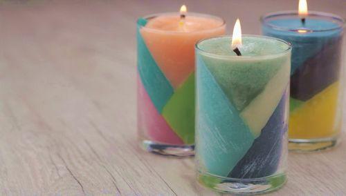 Свечи своими руками в домашних условиях: фото, видео, примеры