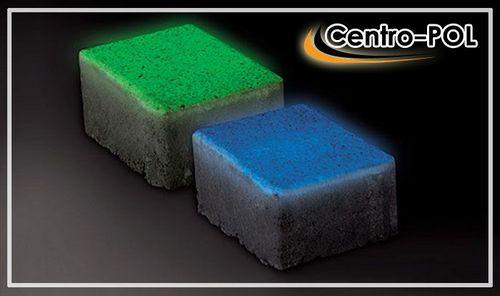 Светящаяся тротуарная плитка в темноте - производство и цена