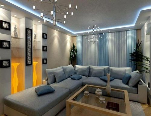 Светодиодная подсветка потолка: стильное решение