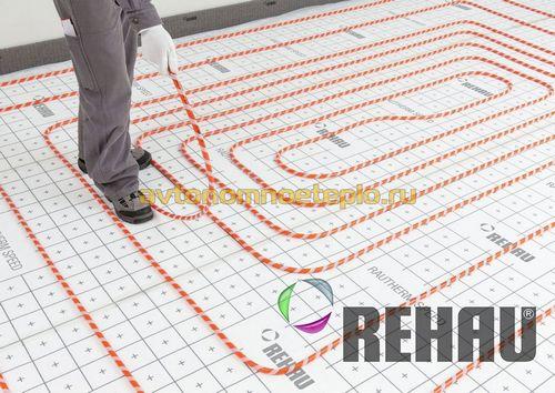 Теплые полы Rehau – технические характеристики, сравнение и советы по монтажу систем марки Рехау