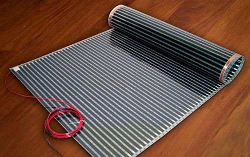 Теплый пол под ковер: конструкция, выбор, производители, монтаж