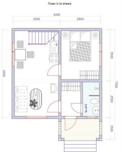 ТОП 11 интересных проектов домов из бруса