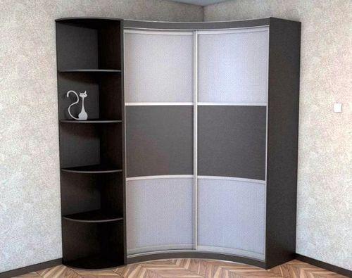 Угловой шкаф купе: чем отличается и как выбрать?