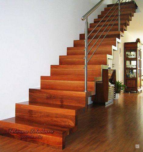 Угол наклона лестницы в частном доме