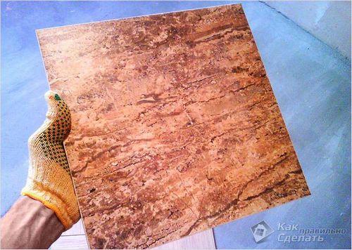 Укладка керамогранита своими руками - подробные инструкции