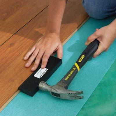 Укладка ламината своими руками: видео-инструкция