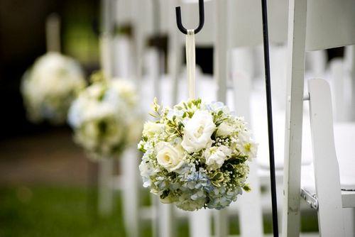 Украшения из бумажных, воздушных, цветочных, нитяных шариков