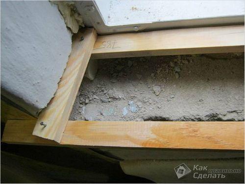 Установка деревянного подоконника своими руками - монтаж подоконника из дерева ( фото)