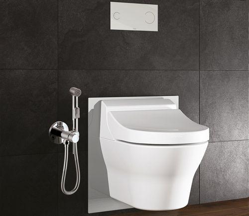 Установливаем гигиенический душ в виде скрытого монтажа