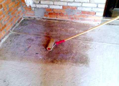 Устройство цементных полов: в подвале, погребе, на складе