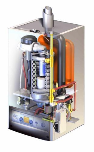 Устройство и принцип работы газовых настенных котлов