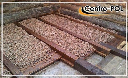 Утепление пола керамзитом - толщина, технология по грунту