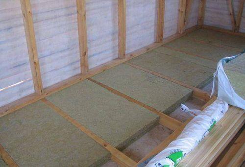 Утепление пола в деревянном доме - выбор материалов и способов их укладки