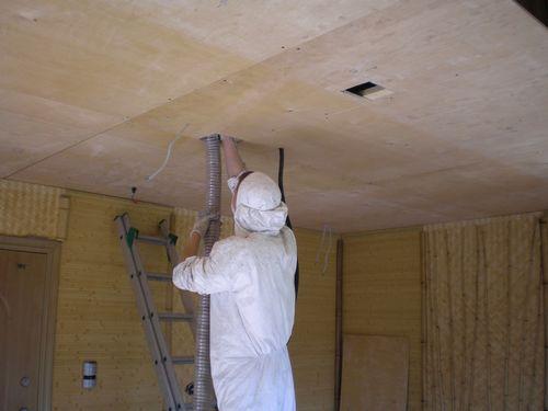 Утепление потолка в частном доме своими руками: какой слой эковаты нужен, монтаж и выбор