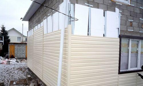 Утепление стен снаружи пенополистиролом — процесс монтажа