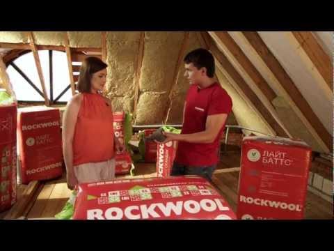 Утеплитель Rockwool: фото, технические характеристики, видео, отзывы