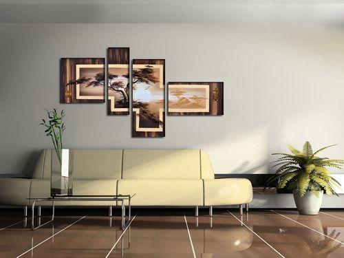 В чем можно выиграть, украсив помещение модульными картинами и постерами