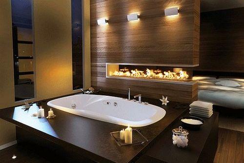 Ванная в спальне: рекомендации по созданию интерьера