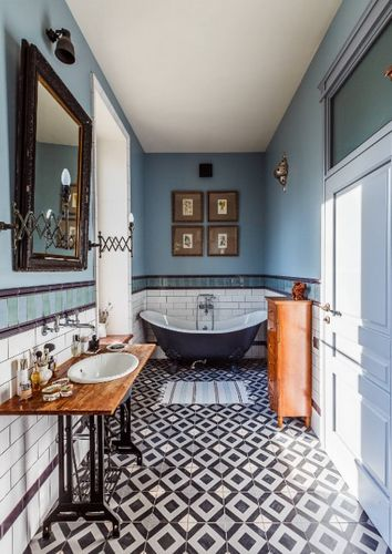 Ванные комнаты - интерьер: современный, модный, красивый дизайн