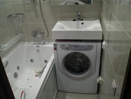 Варианты оформления малагабаритной ванной комнаты с фото примерами