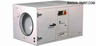Вентиляция бассейна: правила обустройства   обзор осушителей воздуха