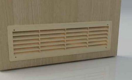 Вентиляция в двери ванной: простые методы обустройства вентиляционных систем