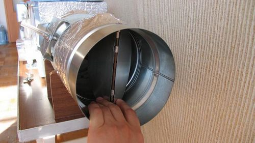 Вентилятор для ванной бесшумный с обратным клапаном