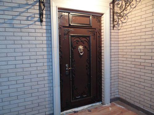 Входные двери для загородного дома: фото и видео обзор, советы и правила выбора