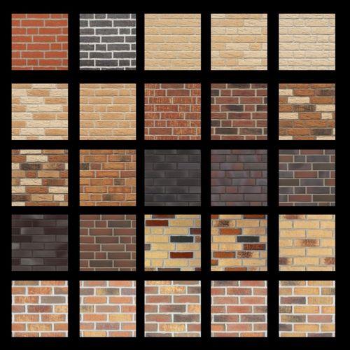 Виды и использование декоративной плитки под кирпич