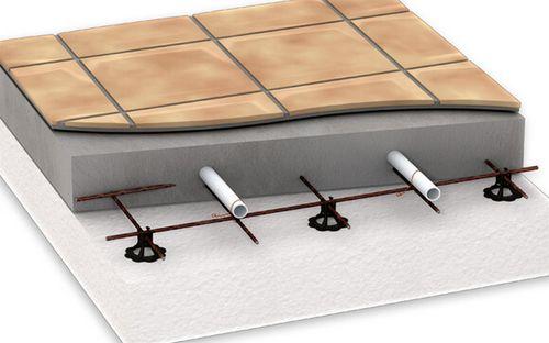 Водяные теплые полы под плитку - особенности монтажа, принцип крепления трубопроводов, фото и видео примеры