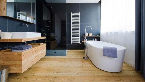 Водостойкий ламинат для ванной комнаты