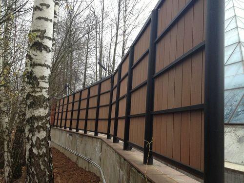 Забор из полимерного композита - свойства и характеристики