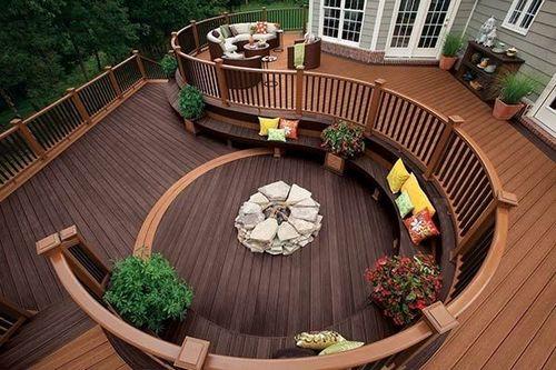 Зона отдыха на даче : пять самых популярных видов площадок для отдыха
